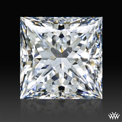 1.323 ct F SI1 A CUT ABOVE® Princess Super Ideal Cut Diamond