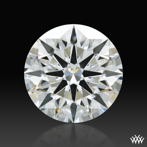1.171 ct H SI1 A CUT ABOVE® Hearts and Arrows Super Ideal Round Cut Loose Diamond