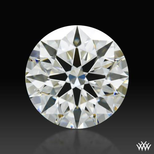 1.185 ct J VS2 A CUT ABOVE® Hearts and Arrows Super Ideal Round Cut Loose Diamond