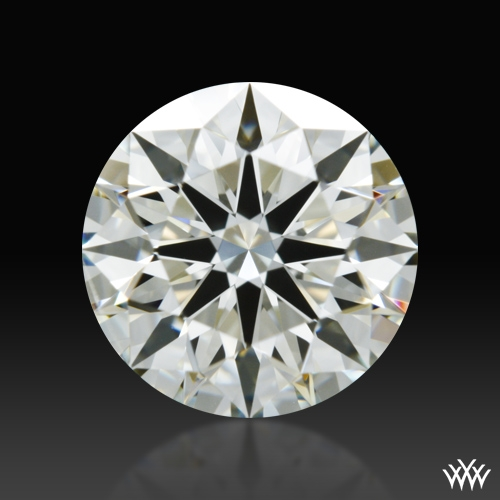 1.107 ct K SI1 A CUT ABOVE® Hearts and Arrows Super Ideal Round Cut Loose Diamond