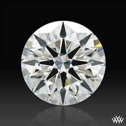 1.186 ct J VS2 A CUT ABOVE® Hearts and Arrows Super Ideal Round Cut Loose Diamond