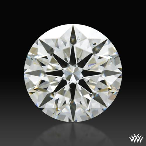 1.227 ct I SI1 A CUT ABOVE® Hearts and Arrows Super Ideal Round Cut Loose Diamond
