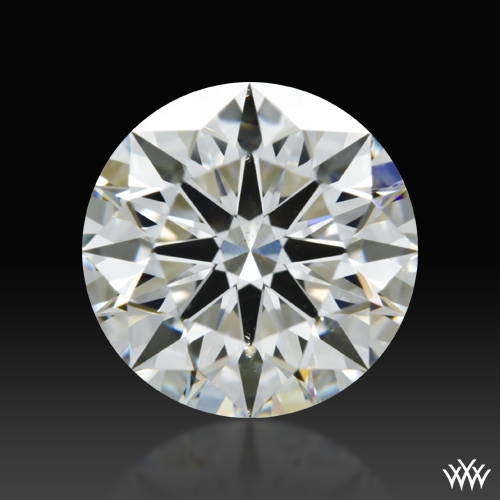 1.538 ct H SI1 A CUT ABOVE® Hearts and Arrows Super Ideal Round Cut Loose Diamond