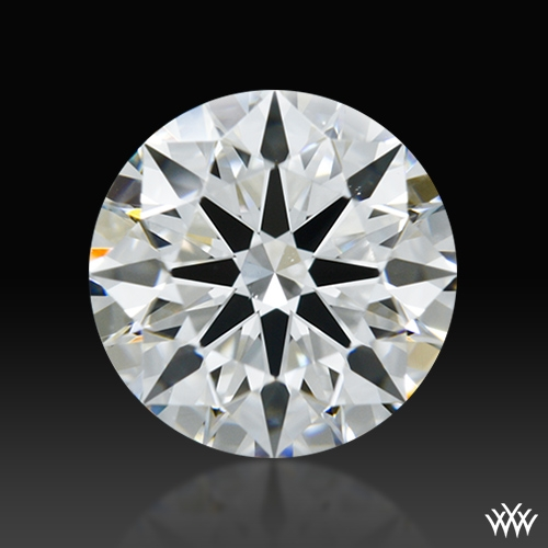0.95 ct F VS2 A CUT ABOVE® Hearts and Arrows Super Ideal Round Cut Loose Diamond
