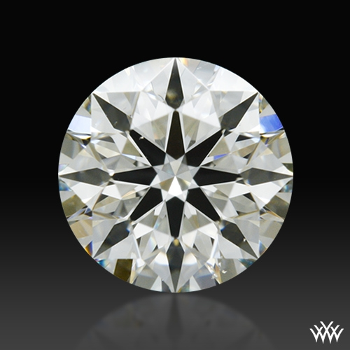 0.611 ct J VS2 A CUT ABOVE® Hearts and Arrows Super Ideal Round Cut Loose Diamond