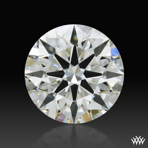0.364 ct H SI1 A CUT ABOVE® Hearts and Arrows Super Ideal Round Cut Loose Diamond