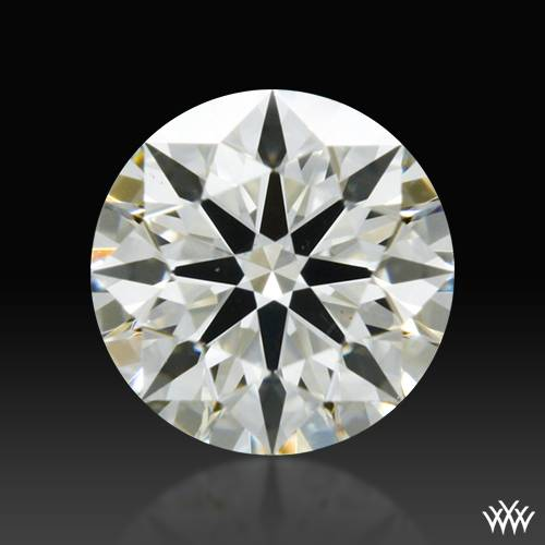 0.341 ct J VS2 A CUT ABOVE® Hearts and Arrows Super Ideal Round Cut Loose Diamond
