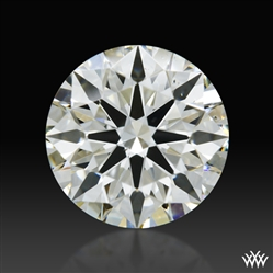 0.595 ct J VS2 A CUT ABOVE® Hearts and Arrows Super Ideal Round Cut Loose Diamond