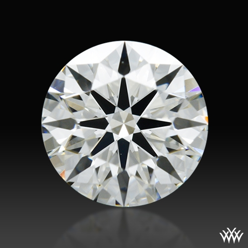 0.593 ct J VS2 A CUT ABOVE® Hearts and Arrows Super Ideal Round Cut Loose Diamond