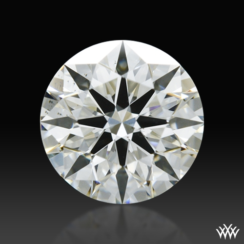 0.506 ct I SI1 A CUT ABOVE® Hearts and Arrows Super Ideal Round Cut Loose Diamond