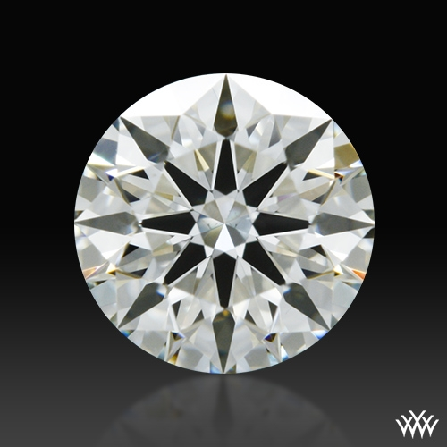 0.508 ct J VS2 A CUT ABOVE® Hearts and Arrows Super Ideal Round Cut Loose Diamond