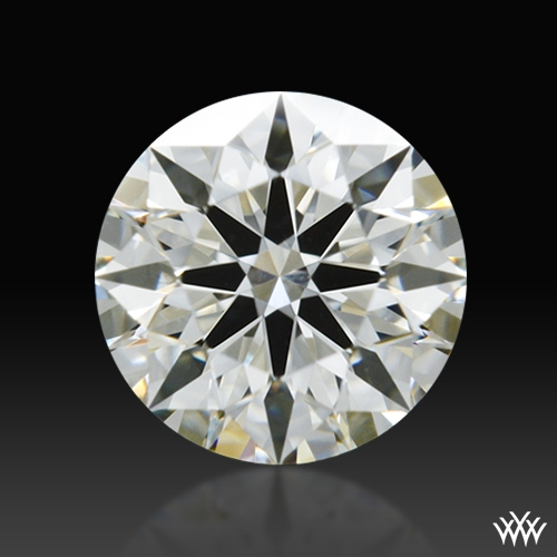 0.507 ct J VS2 A CUT ABOVE® Hearts and Arrows Super Ideal Round Cut Loose Diamond