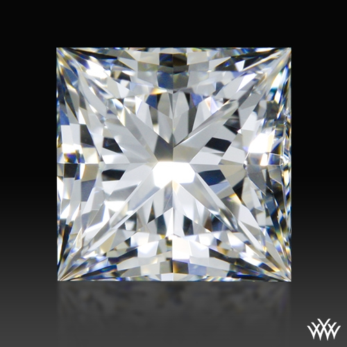 0.961 ct G VS1 A CUT ABOVE® Princess Super Ideal Cut Diamond
