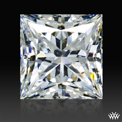 0.975 ct G VS2 A CUT ABOVE® Princess Super Ideal Cut Diamond