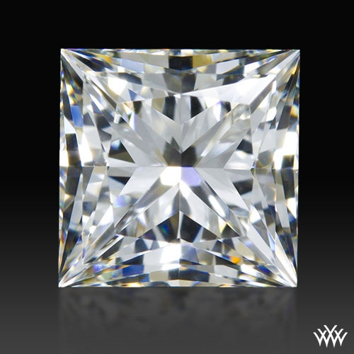 1.04 ct H VVS2 A CUT ABOVE® Princess Super Ideal Cut Diamond