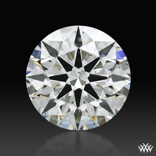 1.081 ct H SI1 A CUT ABOVE® Hearts and Arrows Super Ideal Round Cut Loose Diamond