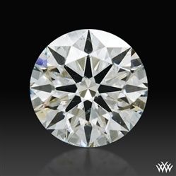 1.174 ct K SI2 A CUT ABOVE® Hearts and Arrows Super Ideal Round Cut Loose Diamond