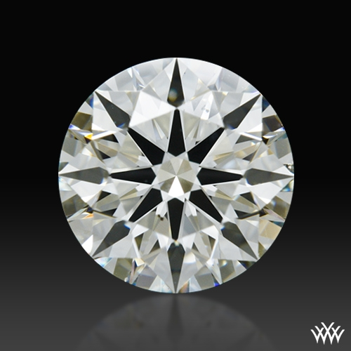 1.062 ct K VS2 A CUT ABOVE® Hearts and Arrows Super Ideal Round Cut Loose Diamond