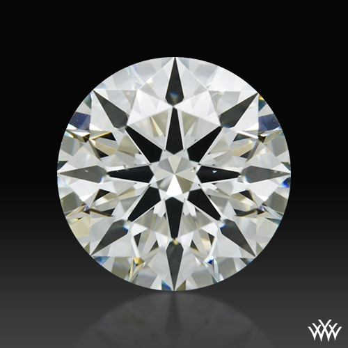 1.128 ct K VS2 A CUT ABOVE® Hearts and Arrows Super Ideal Round Cut Loose Diamond