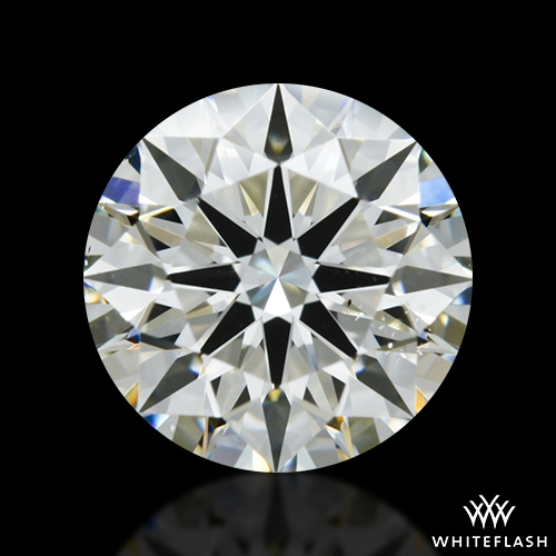 1.181 ct J SI1 A CUT ABOVE® Hearts and Arrows Super Ideal Round Cut Loose Diamond