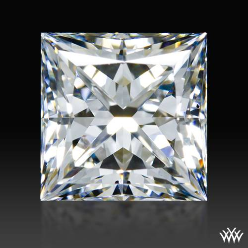0.921 ct H VS2 A CUT ABOVE® Princess Super Ideal Cut Diamond