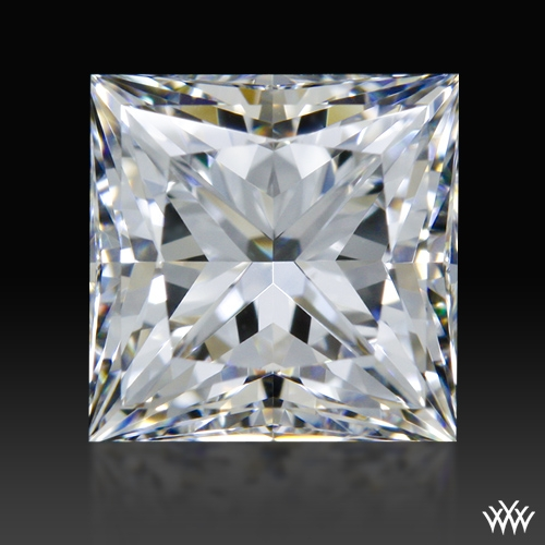 0.842 ct F VS1 A CUT ABOVE® Princess Super Ideal Cut Diamond