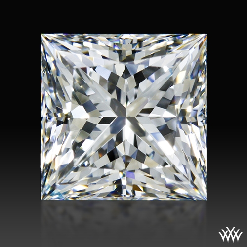 1.29 ct H VVS2 A CUT ABOVE® Princess Super Ideal Cut Diamond