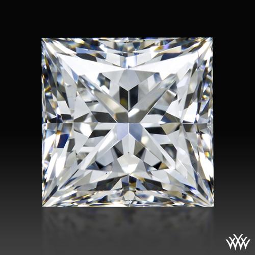 0.971 ct F VS1 A CUT ABOVE® Princess Super Ideal Cut Diamond