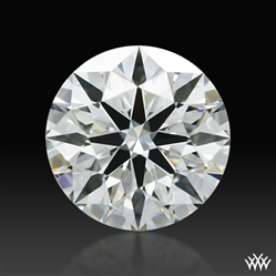 0.784 ct H VS2 A CUT ABOVE® Hearts and Arrows Super Ideal Round Cut Loose Diamond