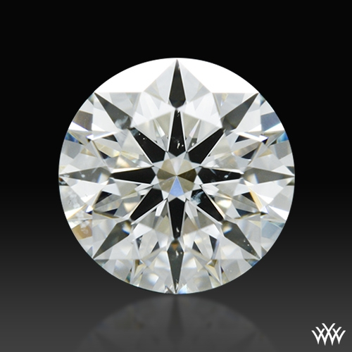 0.68 ct J SI1 A CUT ABOVE® Hearts and Arrows Super Ideal Round Cut Loose Diamond
