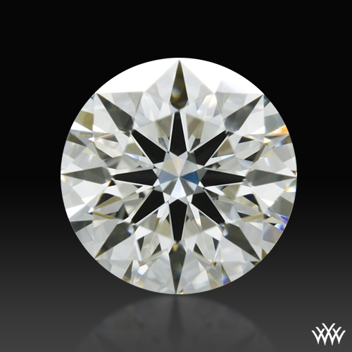 0.621 ct J VS1 A CUT ABOVE® Hearts and Arrows Super Ideal Round Cut Loose Diamond
