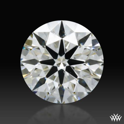 0.301 ct H SI1 A CUT ABOVE® Hearts and Arrows Super Ideal Round Cut Loose Diamond