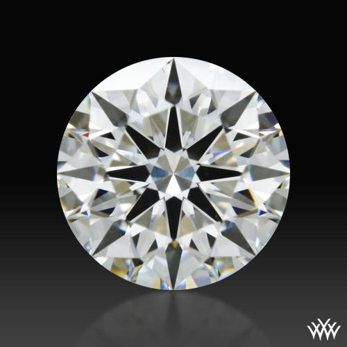 1.103 ct G VS2 A CUT ABOVE® Hearts and Arrows Super Ideal Round Cut Loose Diamond