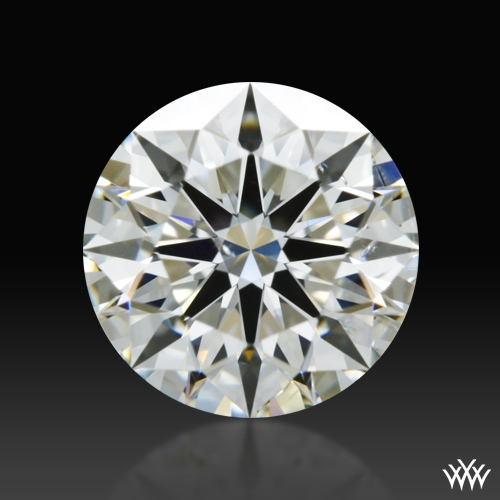 1.105 ct I SI1 A CUT ABOVE® Hearts and Arrows Super Ideal Round Cut Loose Diamond