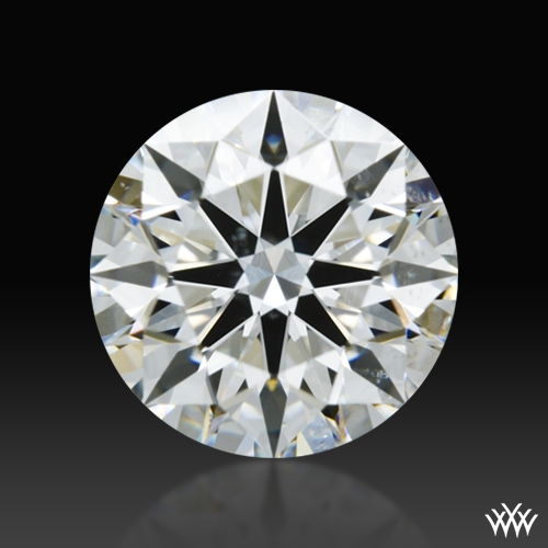 1.225 ct G SI1 A CUT ABOVE® Hearts and Arrows Super Ideal Round Cut Loose Diamond
