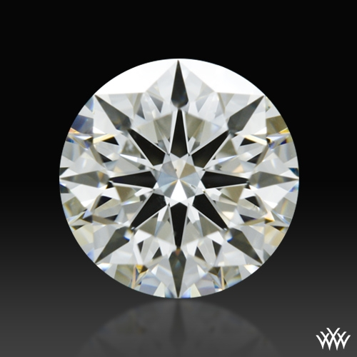 1.356 ct I SI1 A CUT ABOVE® Hearts and Arrows Super Ideal Round Cut Loose Diamond