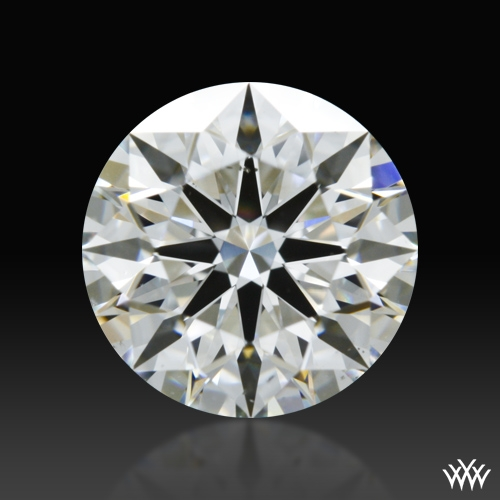 1.228 ct H VS2 A CUT ABOVE® Hearts and Arrows Super Ideal Round Cut Loose Diamond