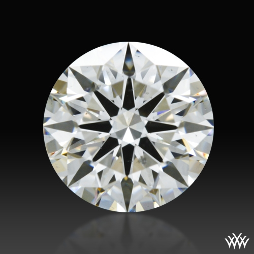 0.932 ct H SI1 A CUT ABOVE® Hearts and Arrows Super Ideal Round Cut Loose Diamond