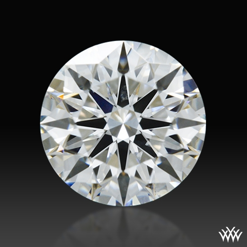 0.606 ct F SI1 A CUT ABOVE® Hearts and Arrows Super Ideal Round Cut Loose Diamond