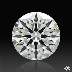 0.766 ct H VS1 A CUT ABOVE® Hearts and Arrows Super Ideal Round Cut Loose Diamond