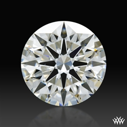 0.758 ct G SI1 A CUT ABOVE® Hearts and Arrows Super Ideal Round Cut Loose Diamond