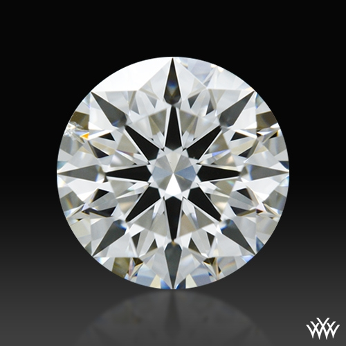 0.741 ct G SI1 A CUT ABOVE® Hearts and Arrows Super Ideal Round Cut Loose Diamond