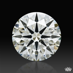 1.21 ct J SI2 A CUT ABOVE® Hearts and Arrows Super Ideal Round Cut Loose Diamond