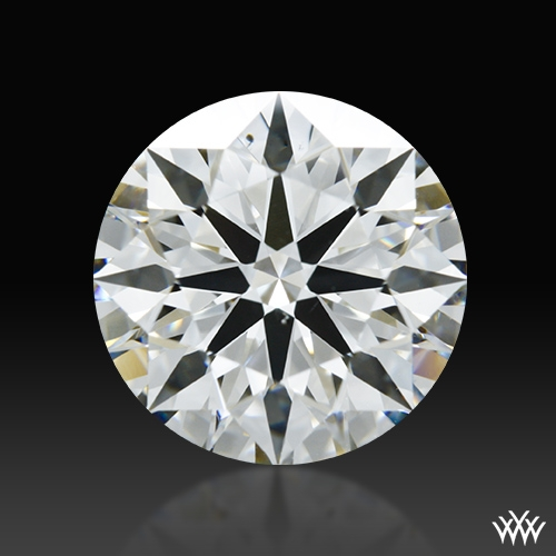 2.267 ct H VS2 A CUT ABOVE® Hearts and Arrows Super Ideal Round Cut Loose Diamond