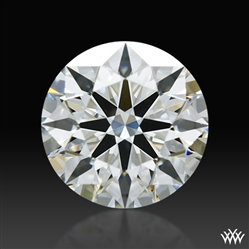 1.317 ct G VS1 A CUT ABOVE® Hearts and Arrows Super Ideal Round Cut Loose Diamond