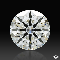 0.645 ct I VS2 A CUT ABOVE® Hearts and Arrows Super Ideal Round Cut Loose Diamond
