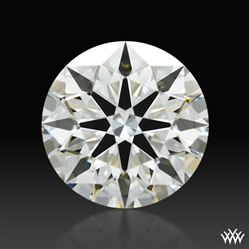0.638 ct J VS2 A CUT ABOVE® Hearts and Arrows Super Ideal Round Cut Loose Diamond