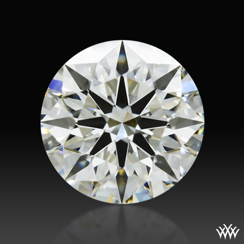 0.544 ct J VS2 A CUT ABOVE® Hearts and Arrows Super Ideal Round Cut Loose Diamond