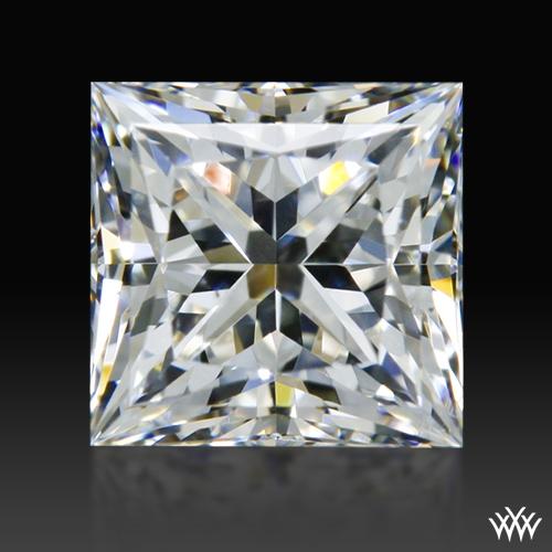 0.654 ct F VS2 A CUT ABOVE® Princess Super Ideal Cut Diamond