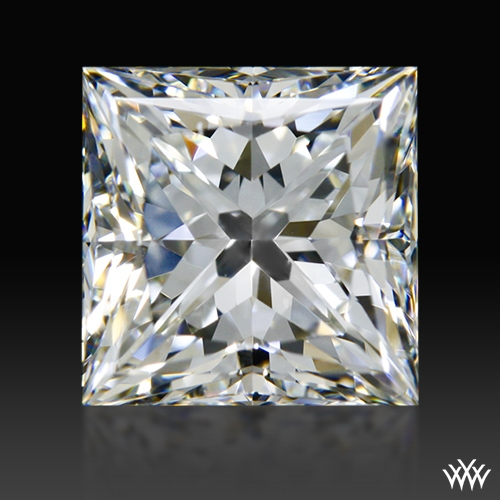 1.076 ct G VS1 A CUT ABOVE® Princess Super Ideal Cut Diamond